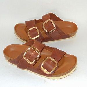 BIRKENSTOCK Arizona Big Buckle Sandals Leather 6